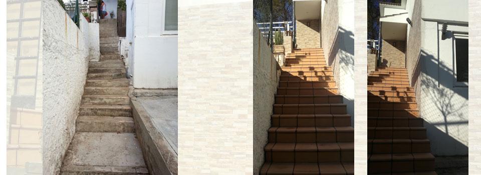 rehabilitación-de-escaleras