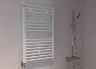 Radiador toallero de 50 x 85 lacado en blanco