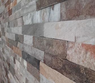 Lajas de piedra natural, para revestimientos interiores y exteriores