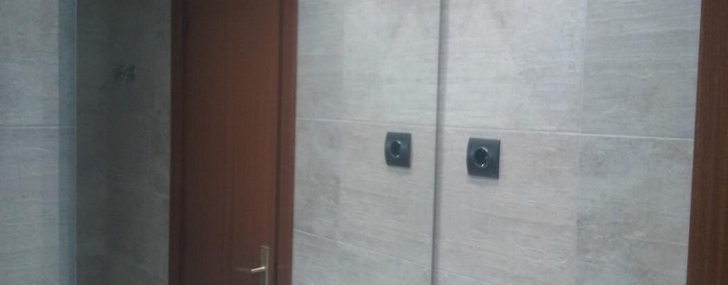 Reforma de baño integral, con la cerámica newport de porcelanosa