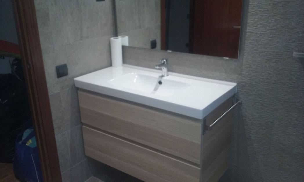 Mueble de baño con cajones, para mayor comodidad y capacidad