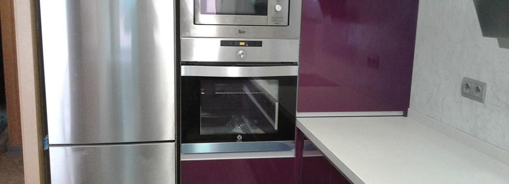 Muebles para integrar los electrodomésticos y aprovechar al máximo nuestra capacidad de almacenaje