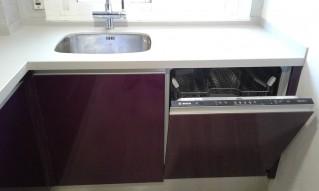 Lavavajillas panelable e integrado en nuestra cocina.