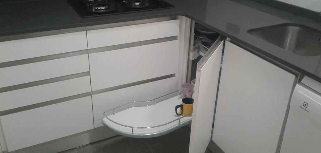 Accesorios para muebles de cocinas rinconero, para aprovechar el espacio de nuestra cocina