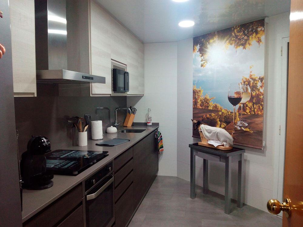 Reforma integral de cocina realizada en hospitalet de llobregat