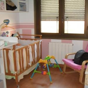 Reforma de habitación infantil con pintra decorativa