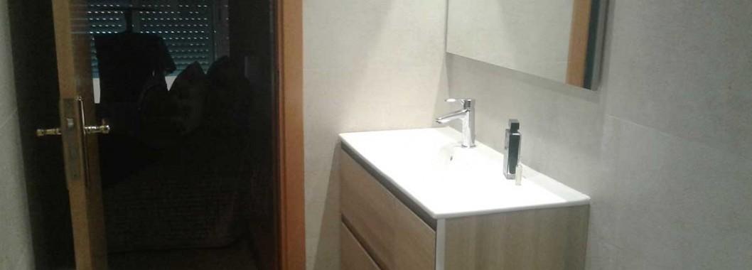 Mueble de baño look de 90 cm de Royobath