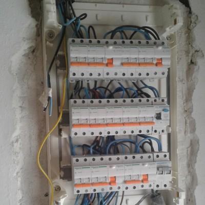 Instalación eléctrica integral en vivienda