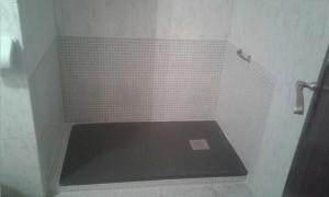 Plato de ducha de carga mineral cabel