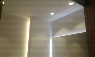 La iluminación del baño, es un punto muy importante para el resultado final del baño