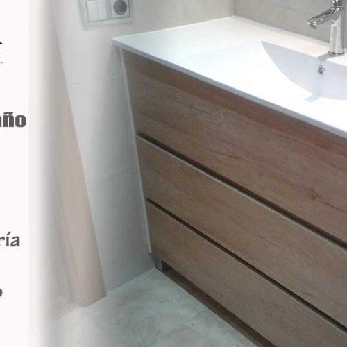 Remodelación sencilla del baño, cambiando las piezas sanitarias que no encajan con vuestras necesidades
