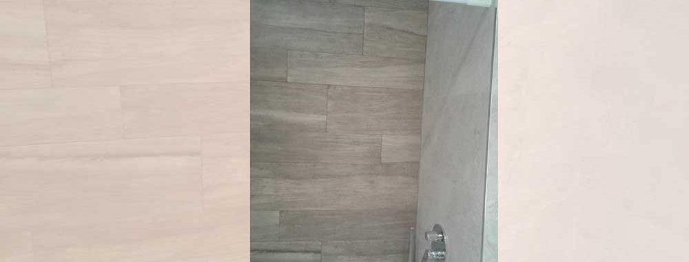 Grifería de ducha Winner encastrada, con raciador de techo rectangular efecto lluvia