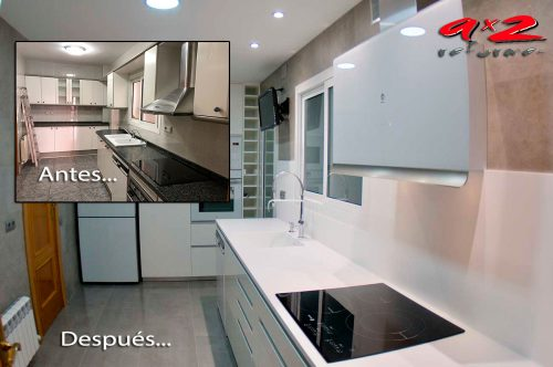 Reformamos y diseñamos tu cocina.