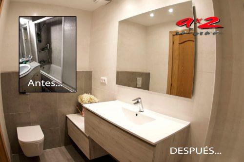 Reforma de baño integral en Gavà
