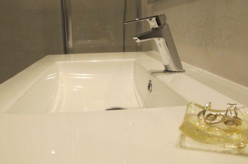Monomando de lavabo Winner efecto cascada