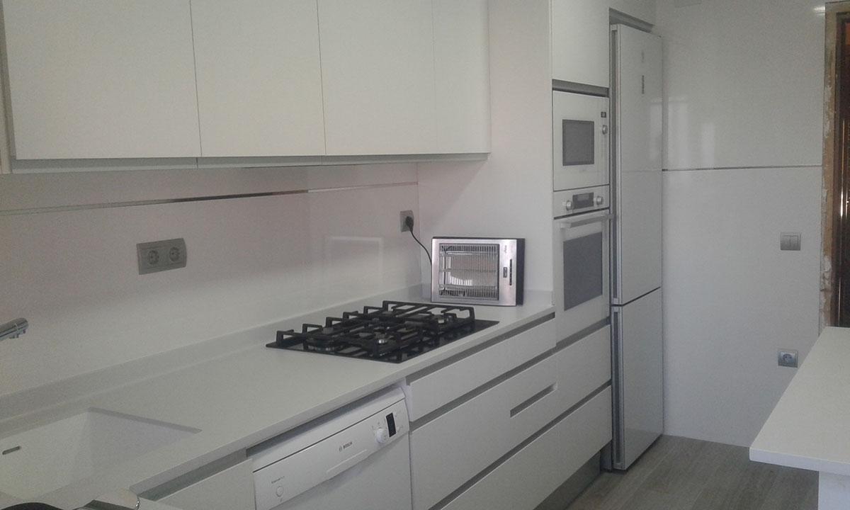 Reforma y proyecto de cocina realizada en Viladecans