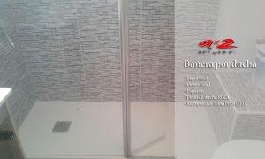 Cambiar bañera por ducha. Una reforma práctica y eficaz
