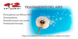 Tratamiento de aire. Filtros Hepa, Ozono