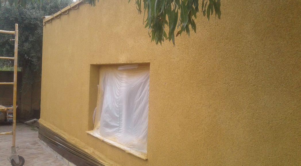 Corcho proyectado. Un aislamiento exterior de tu vivienda