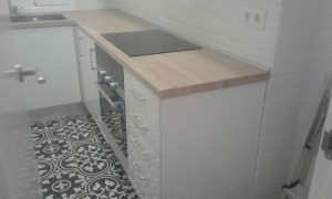 Reforma de cocina pequeña en Castelldefels Playa