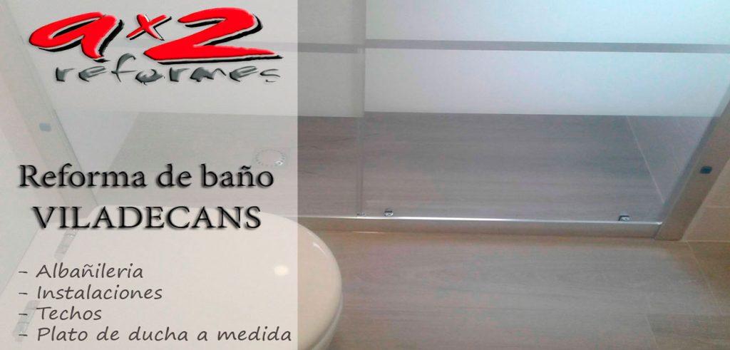 Reformas de cuartos de baño en Viladecans
