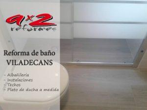 Reforma de baño en Viladecans