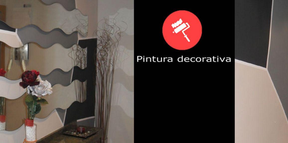 Pintura decorativa en recibidores