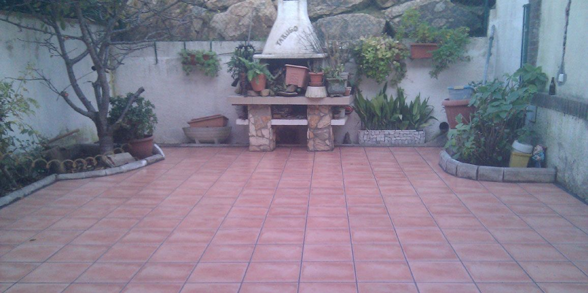 Reformas de terrazas y patios interiores