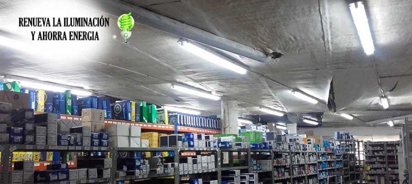 Cambio de fluorescentes por tubo led