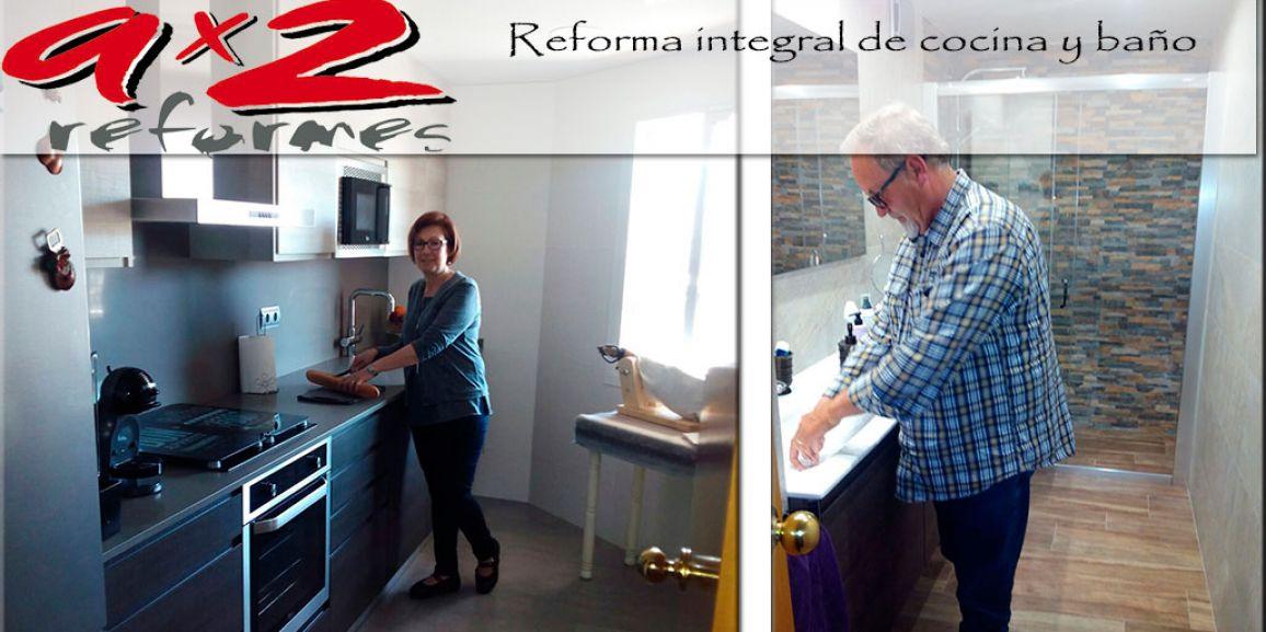 Reforma de cocina y baño