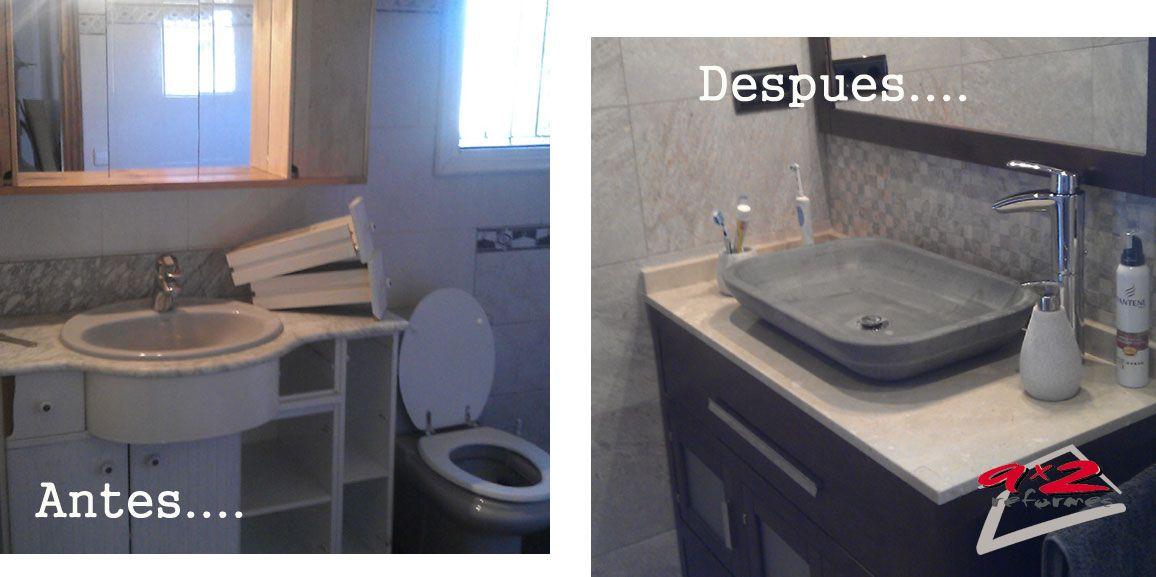 Reformas de cuartos de baño en santa oliva