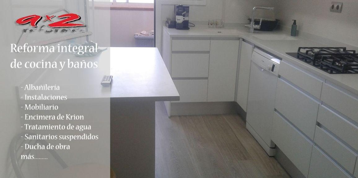Reforma integral de cocina y baños en Viladecans