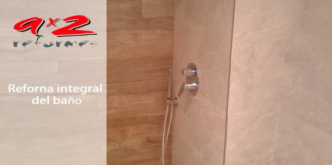 reforma integral de baño en Sant Feliu de llobregat