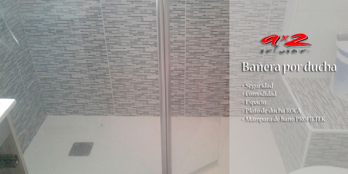 Bañera por ducha en Gavà