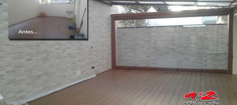 Reforma de terraza en sitges