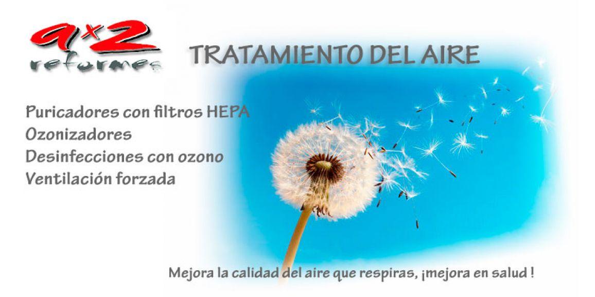 Purificador de aire con ozono, filtro Hepa y desinfección con ozono