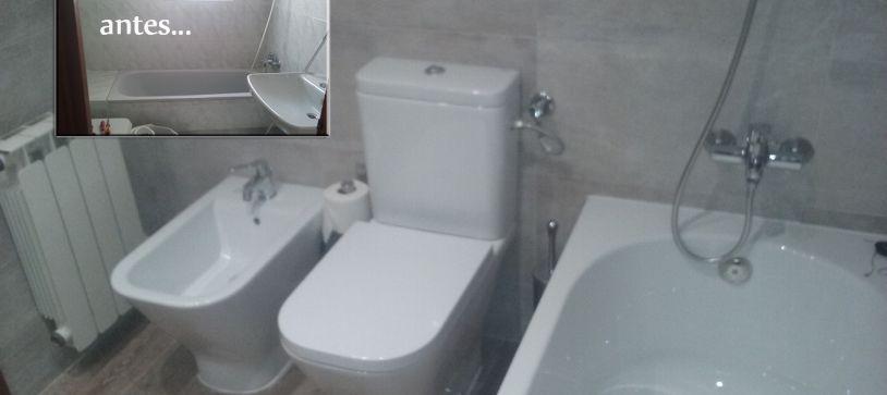 Reforma de baño completa en hospitalet de llobregat
