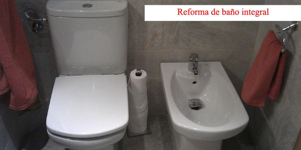 Reforma de baño con ducha de obra y mampara
