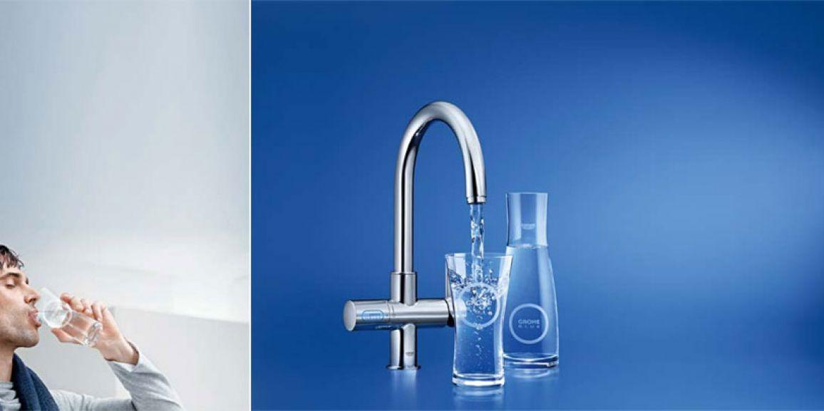 Instalación de Osmosis Grohe Blue en Gavà